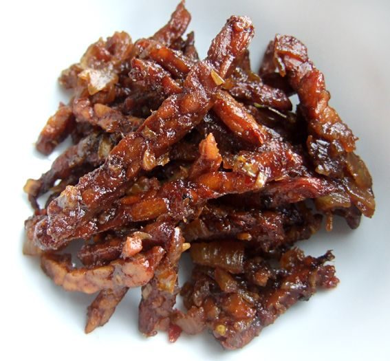 Tempeh Kering - Nombelina's Foodblog