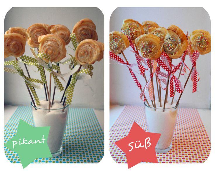 die Küchenchefin: Blätterteig-Lollies nach Enie Backt