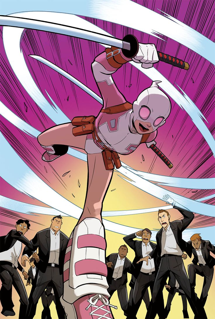 GWENPOOL SPECIAL #1 - pg. 4 of 9) By: Jorden D White, Kris Anka, James Harren, Emanuela Lupacchino, Ian Herring , Robbi Rodriguez.