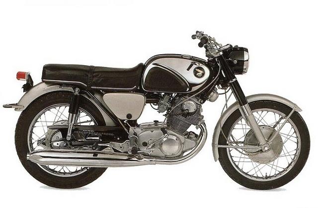 1966 Honda CB 77 Super Hawk