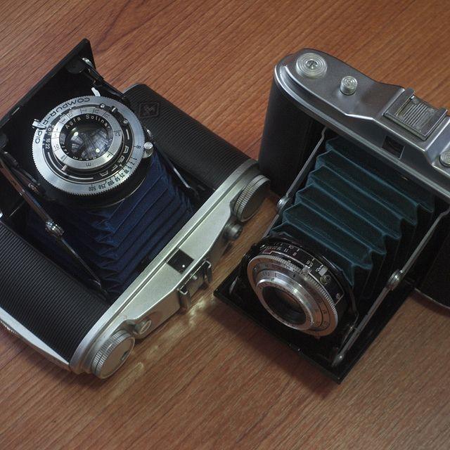 Agfa Isolette II + I | Flickr - Photo Sharing!