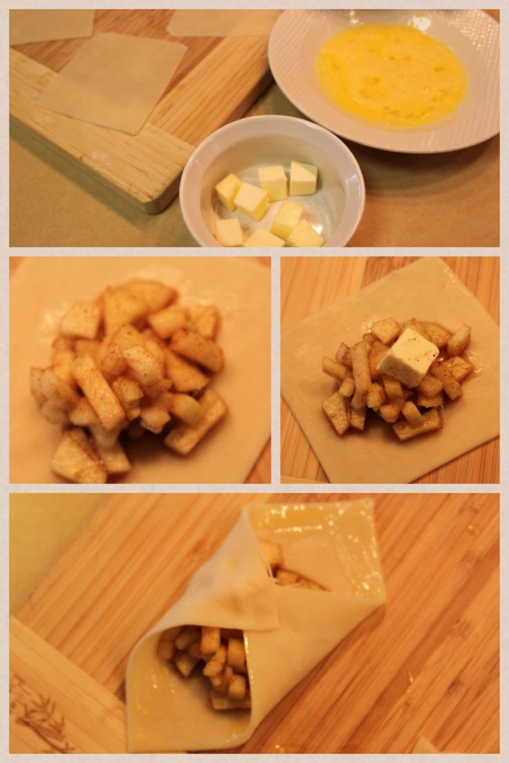 Mini Apple Pies - My Little Pony Birthday Party Snack (Apple Jack's contribution)