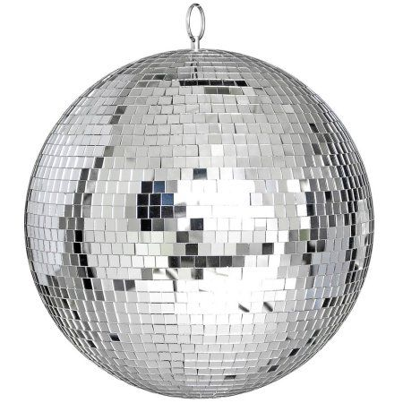 "Yescom 12"" Mirror Glass Ball Disco DJ Dance Decorative Stage Lighting Home Party Business Window Display Decoration - Walmart.com"