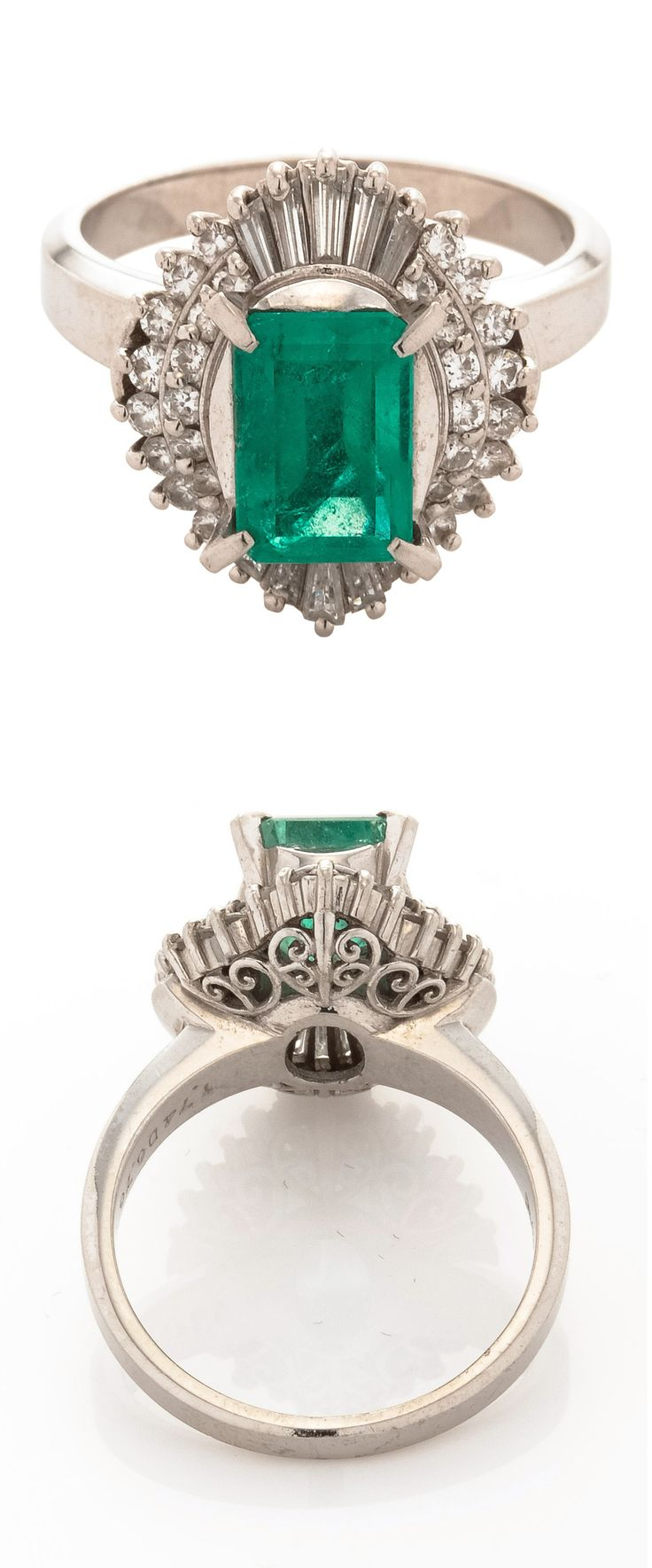 Vintage Estate Emerald Diamond Ring. Oh my goodness!! Check out our gorgeous and affordable jewelry pieces @ www.adornmeaustralia.com