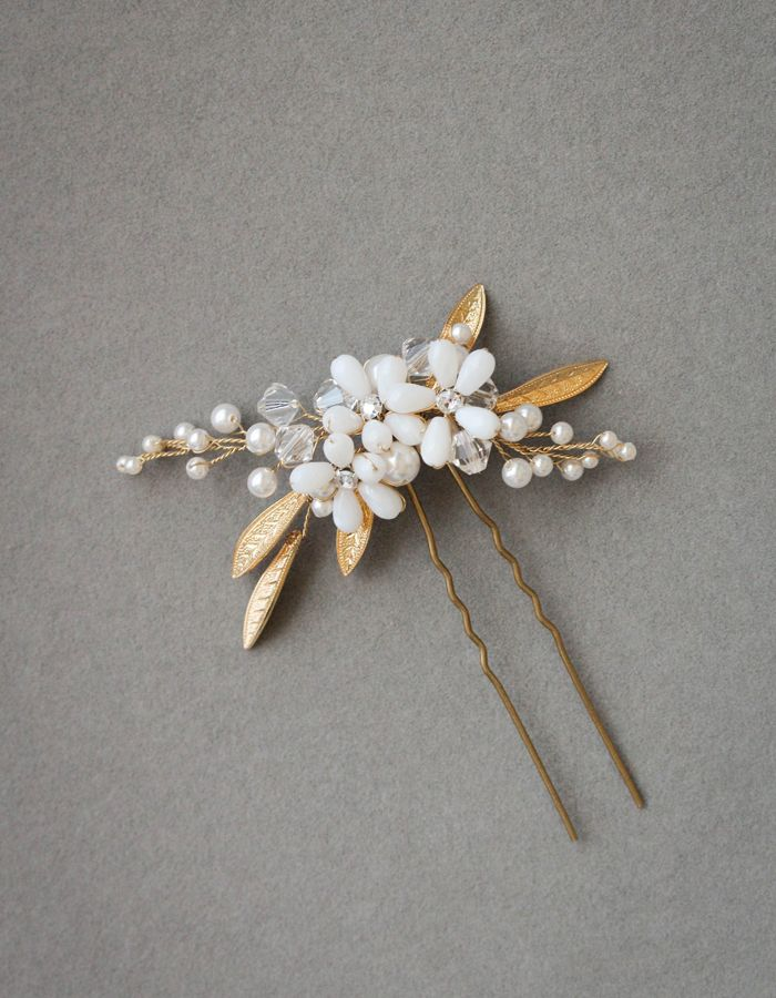POSIE wedding hair pin 1