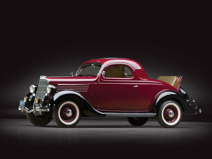 Sam Pack Ford >> 1935 Ford V-8 DeLuxe Three-Window Coupe | Sam Pack Collection 2014 | RM AUCTIONS | FORD | Pinterest