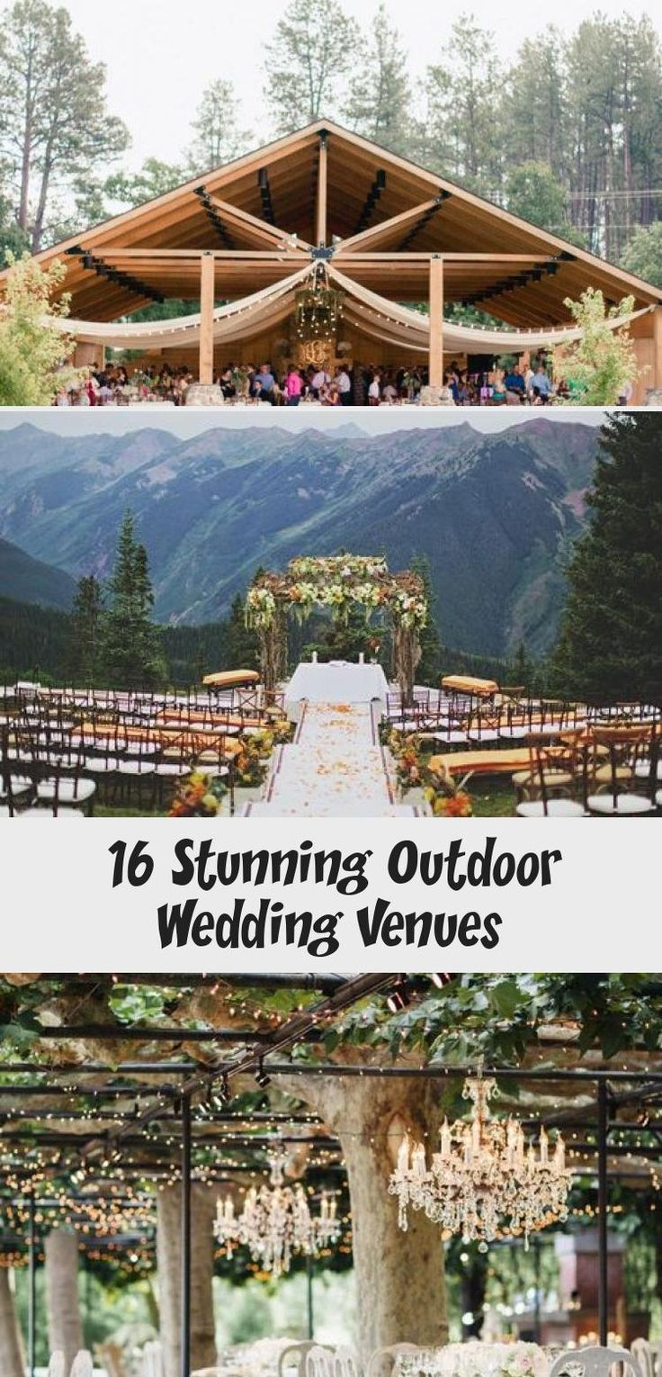 16 Stunning Outdoor Wedding Venues of 2018 #octoberwedding  #boy    #happy   #weddingbudget   #outfit #gardenweddingDecoracion #Whitegardenwedding #Rusticgardenwedding #gardenweddingArch #gardenweddingAltar