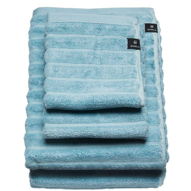 Bambusa Bath Towel 70x140cm, Aqua - Himla - Himla - RoyalDesign.com #bathroom #himla #swedishdesign #royaldesign #design