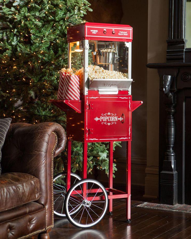 Popcorn Machine and Cart | Balsam Hill