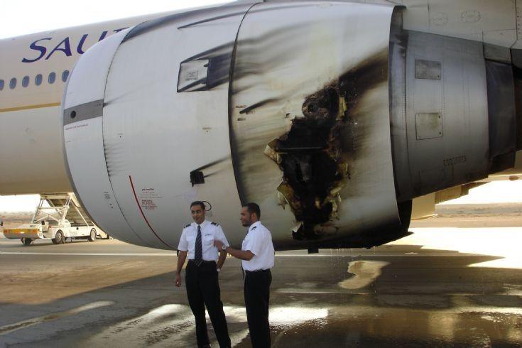 Boeing 777 Engine Explosion