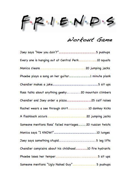 friends workout - Google Search