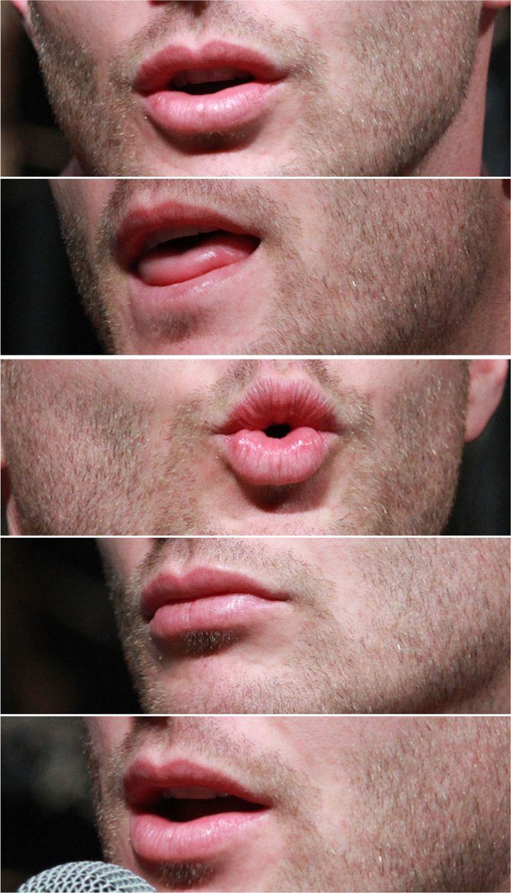 A very important post about Jensen's life ruining mouth and everything attached to it...
