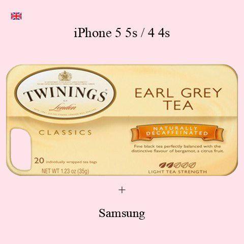 Earl Grey iPhone case