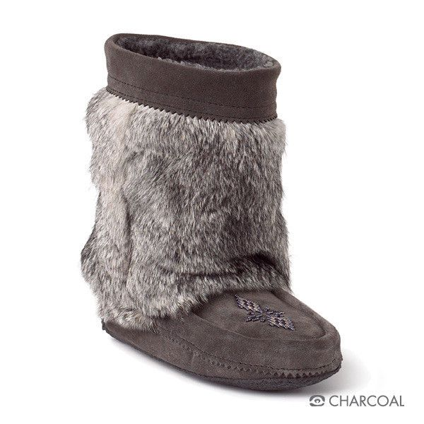 Manitobah Half Mukluk with Crepe Sole