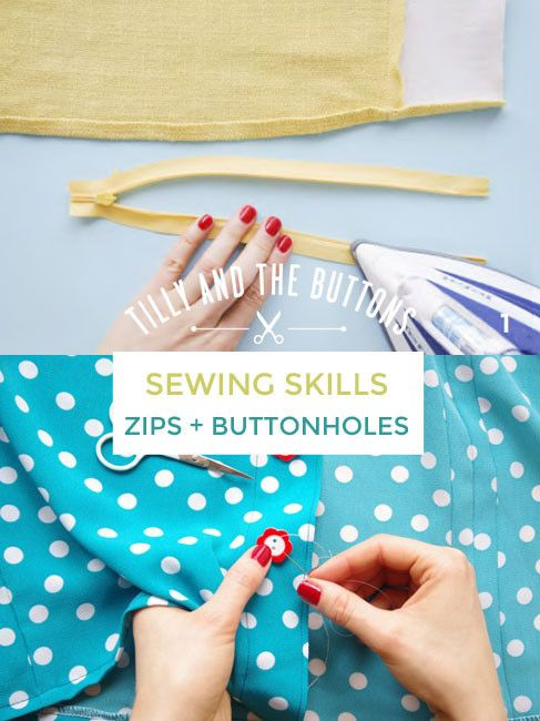 Master the art of sewing zips and buttonholes - workshop at Tilly + the Buttons HQ, taught by Lauren Taylor from Lladybird.com