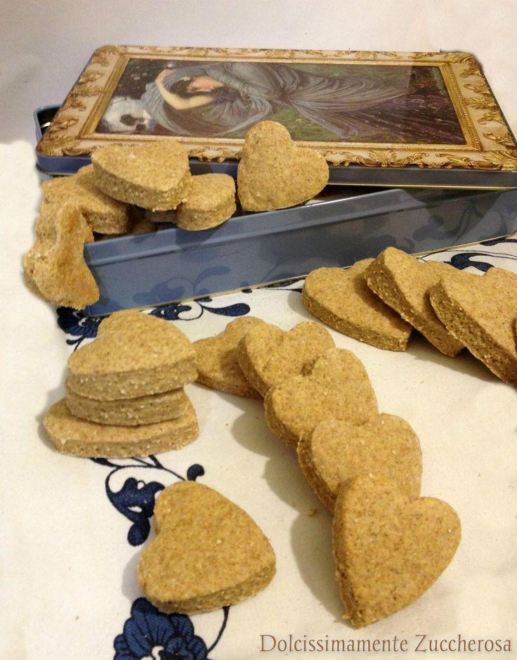 Biscotti integrali senza grassi e zuccheri aggiunti ricetta (da pasta frolla light)