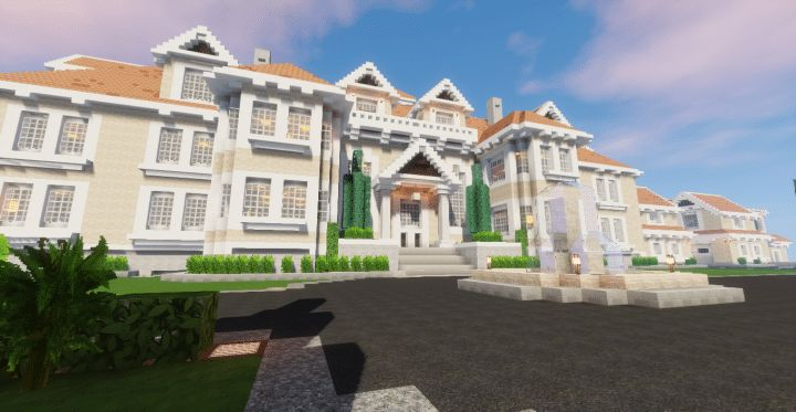 MC: 1.10.2 RP: UTB (Use The Blocks) Official 1.10 Shaders: Sildur's Vibrant This beach-side mansion is luxury home and B&B resort. It is set in a lush tropical environment with an ocean t…