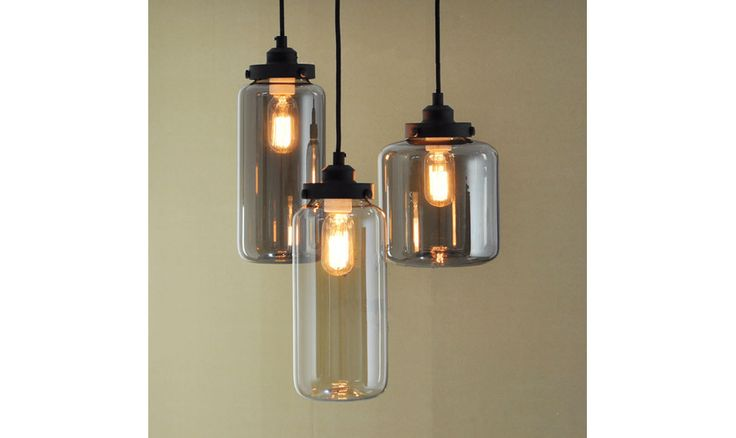 Mr Ralph | Glass Jars - long 12.5 Dia x 27 High - ESSENTIALS, Pendants