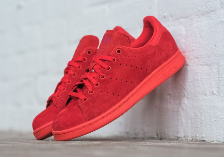 The adidas Originals Stan Smith Powder Red Is As Bold As It Gets • KicksOnFire.com