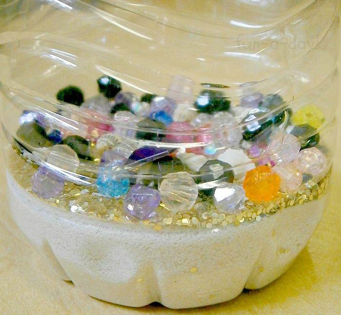 Sunken Treasure Discovery Bottles for Little Pirates