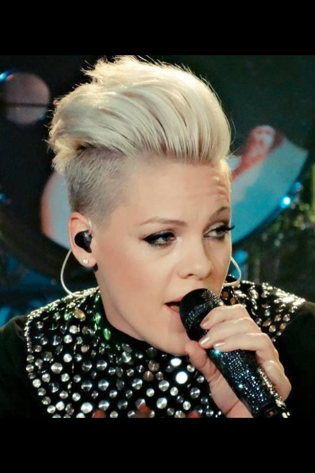 P!nk - love her! Counting down the days until I get to see her live again.
