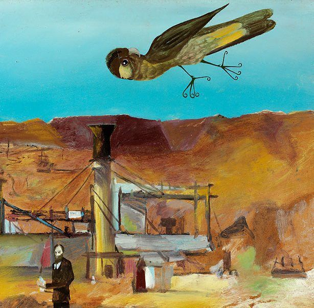 Pretty Polly Mine, (1948) by Sidney Nolan :: The Collection :: Art Gallery NSW