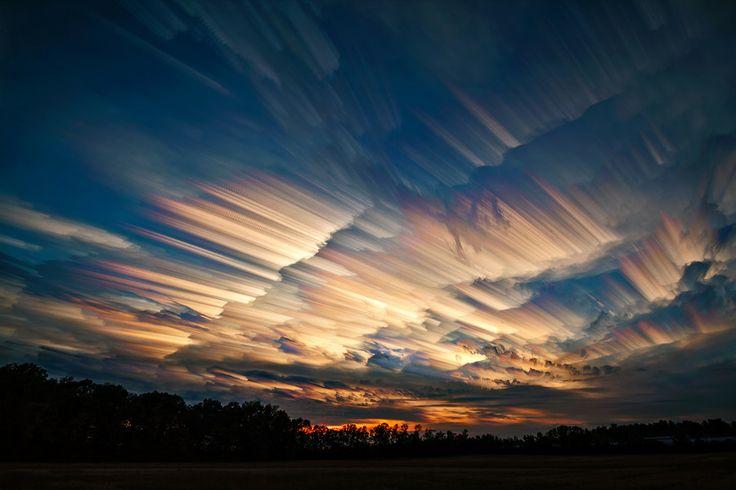 Contrails vs Cloud Trails by Matt Molloy  TimeLapse  on 500px