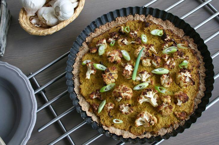 Vegan Delicious Fitness: Slaný koláč s kešu krustou