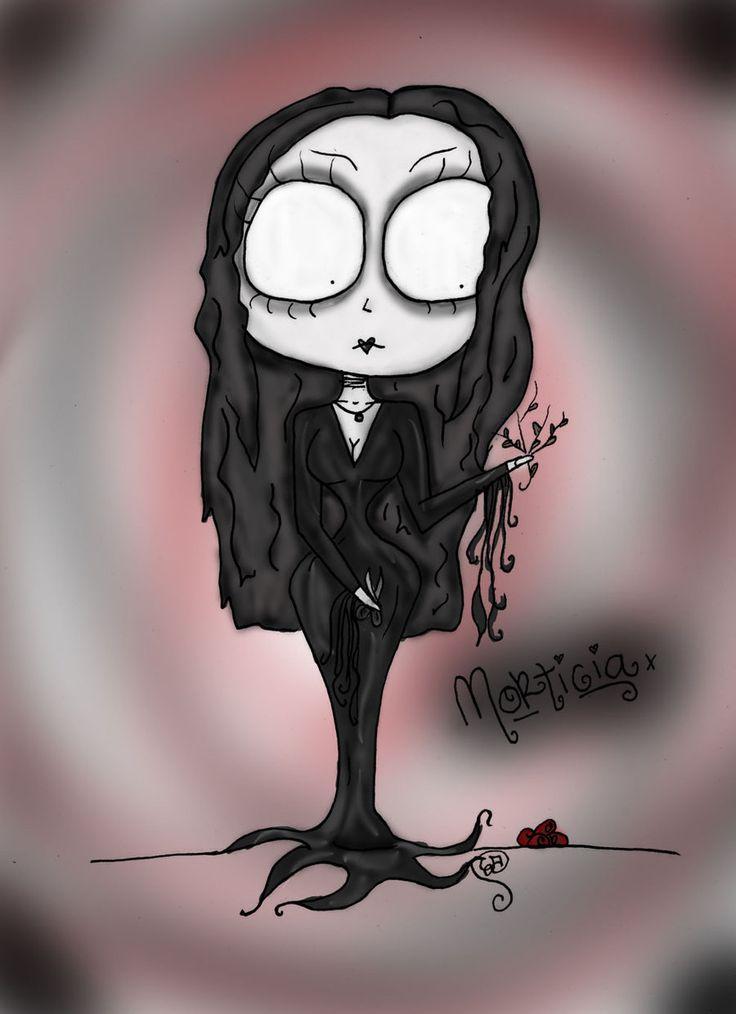 Morticia Addams. by Erica Ann Tolbert-Jones [©2010]