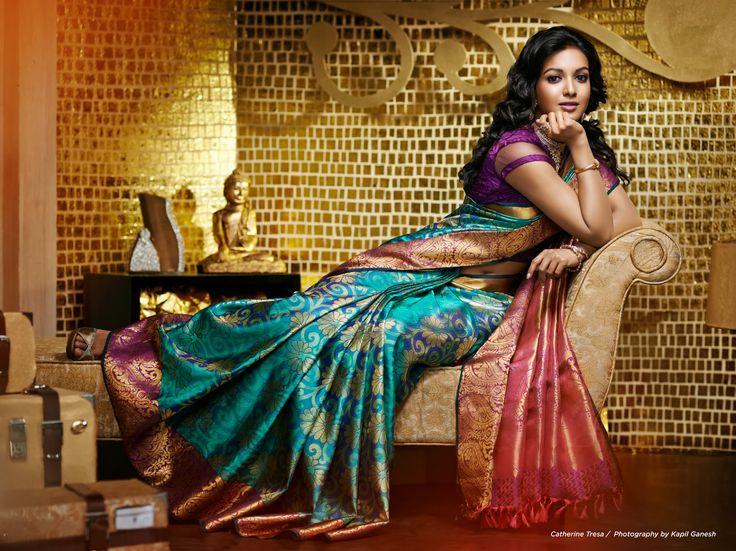 Kapil Ganesh Photography: Catherine Tresa for South India ...