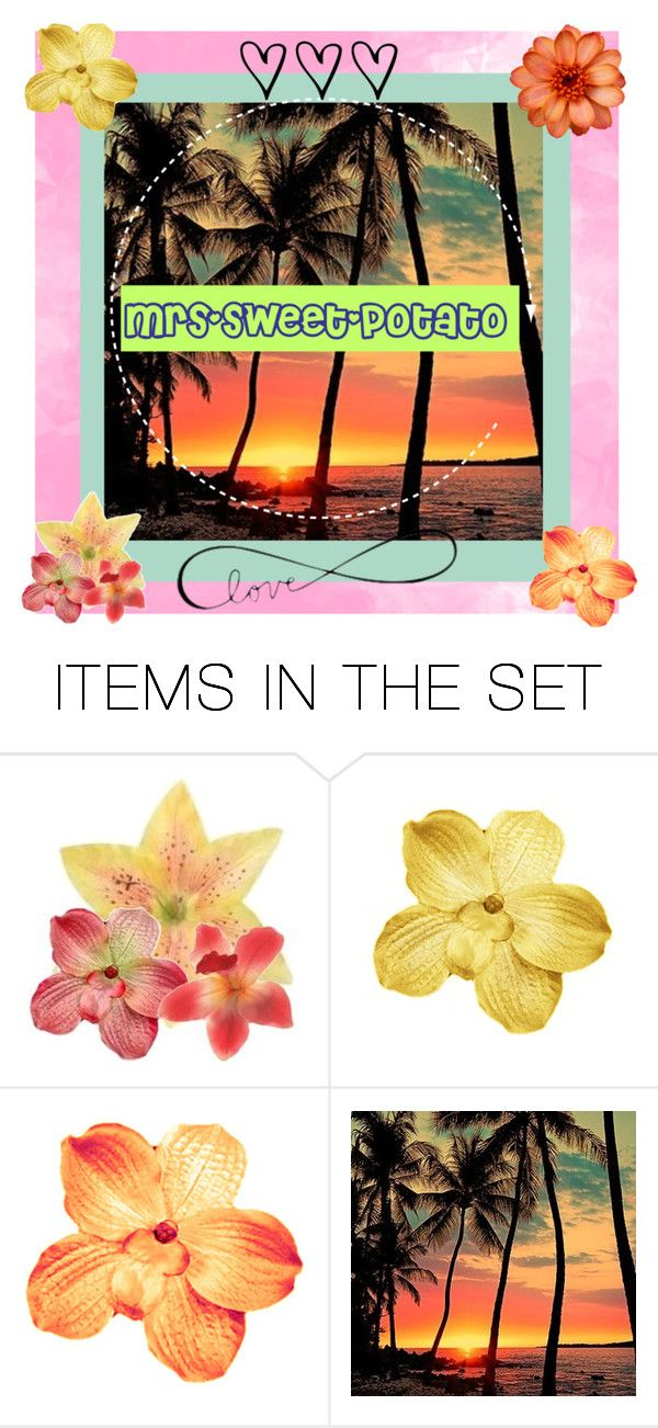 """""""mrs-sweet-potato-icon"""" by liana-fashion ❤ liked on Polyvore featuring art"""
