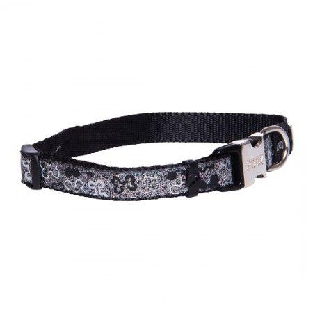 Rogz Lapz Trendy Dog collar Black - Medium