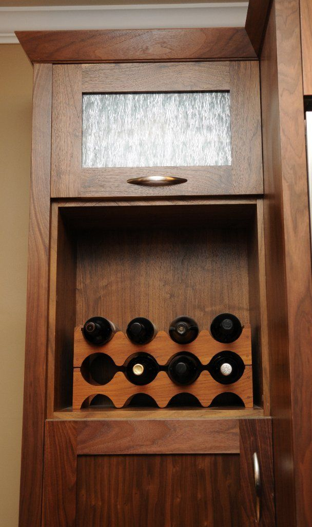 Cherry wine rack