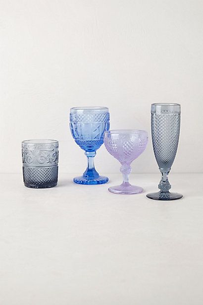Gala Stemware #anthropologie