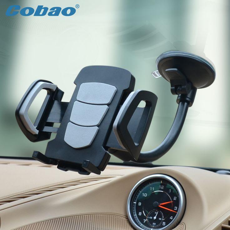 2016 Cobao мобильный телефон подставка держатель лобовое стекло автомобиля держатель для xiaomi примечание iphone 4s 5 5S 6 6 s galaxy S3 4 5 6 7 Примечание 3 4 5 купить на AliExpress