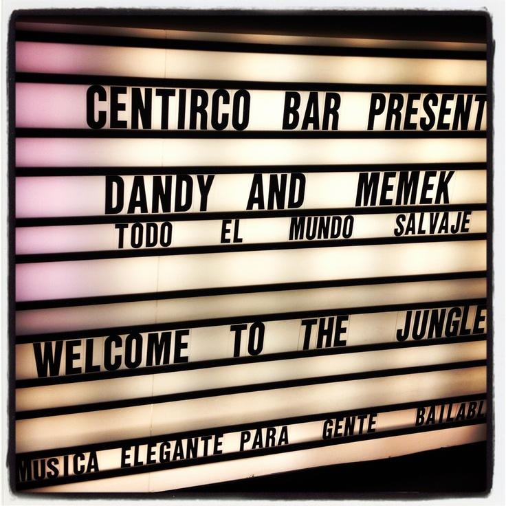 DANDY & MEMEK en #centricobar