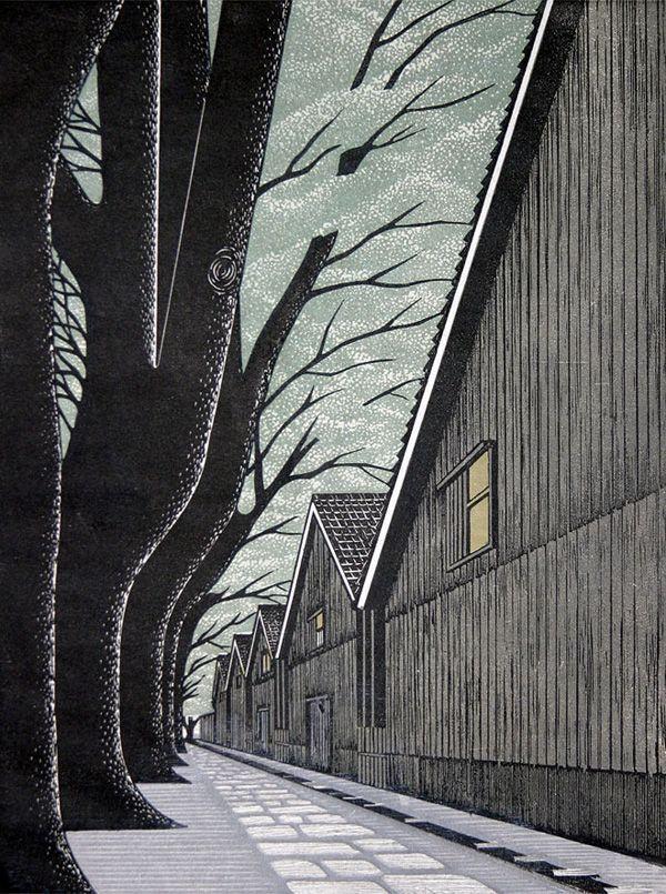 Ray Morimura | Woodblock Prints | bumbumbum