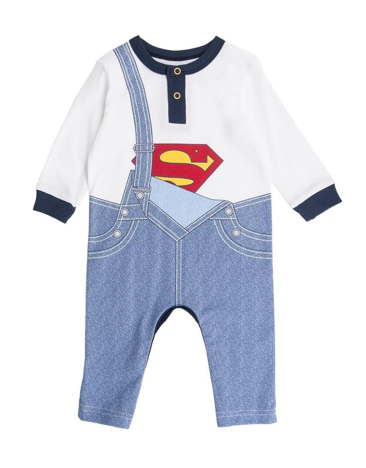 Superman Cotton Sleepsuit