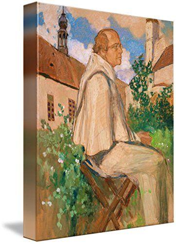 Wall Art Print entitled Portrait Of The Geneticist Johann Gregor Mendel, 1 by The Fine Art Masters