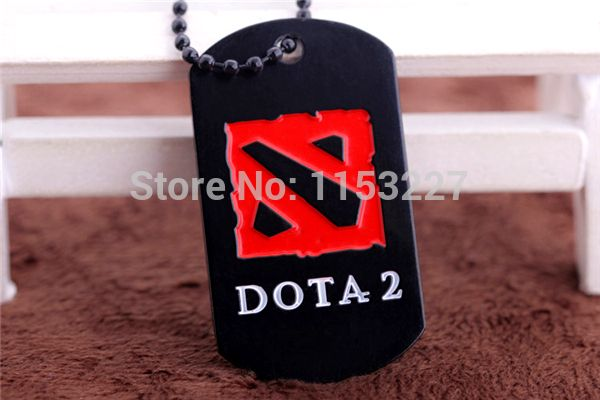 Alianca men women trade online games around black red dota 2 pendants necklace