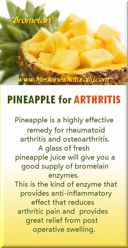 Bromelain For Arthritis Pain Relief