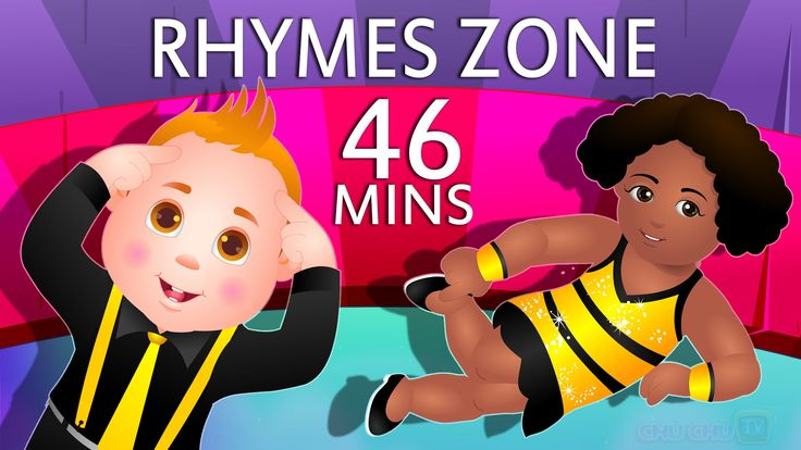 Head, Shoulders, Knees and Toes | Popular Nursery Rhymes Collection for ...