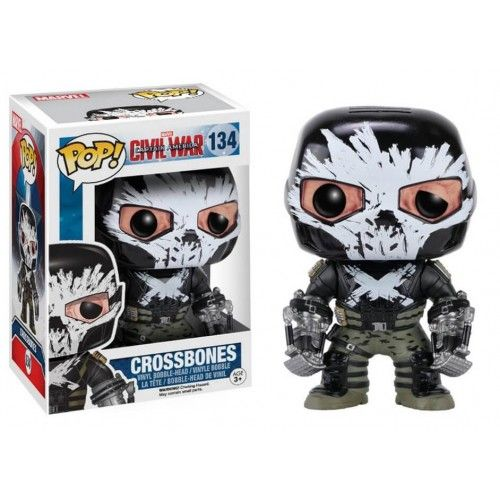 Funko CW Crossbones, Civil War, Guerra Civil, Marvel, Ossos Cruzados, Funkomania