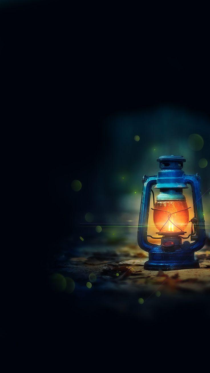 A Light in The Dark. Dark background wallpaper