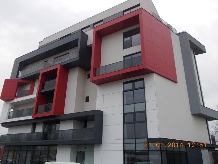 Hotel Tempo Tg-Mures, Romania Architectural Systems: E85, E45 Cladding Material: Etalbond   www.etem.ro