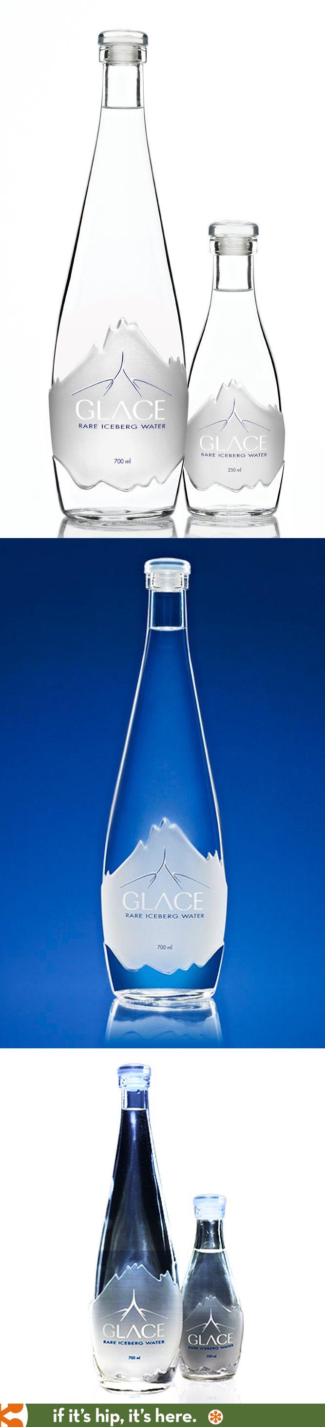 Glace Rare Iceberg Water in lovely bottles.