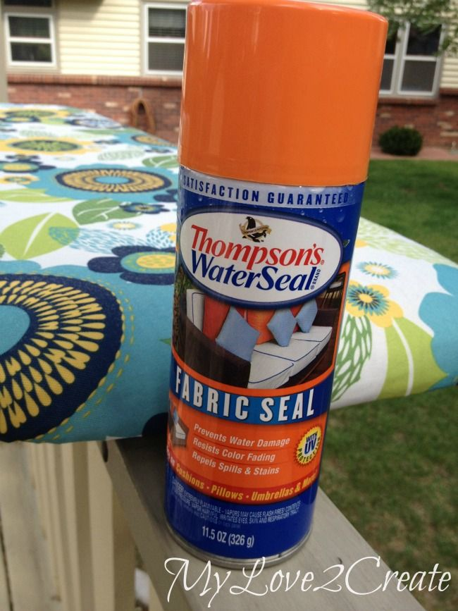 Repainting and recovering outdoor patio furniture DIY