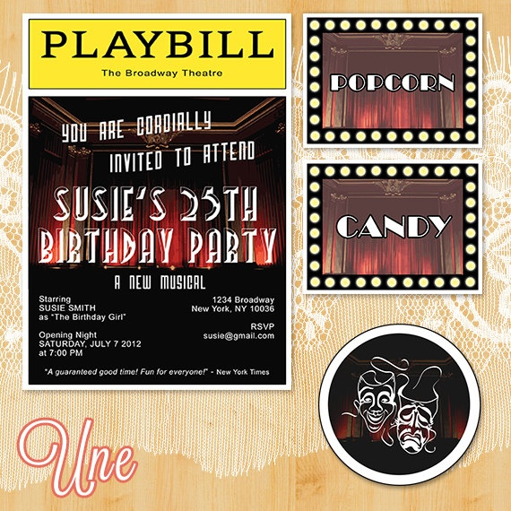 Best 20+ Broadway Party Ideas On Pinterest