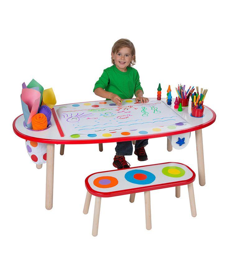 Another great find on #zulily! ALEX Rainbow Dot Super Art Table Set by ALEX #zulilyfinds