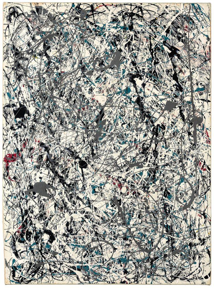 likeafieldmouse:Jackson Pollock - No. 19 (1948)